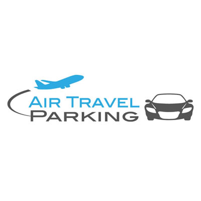 air travel parking logo